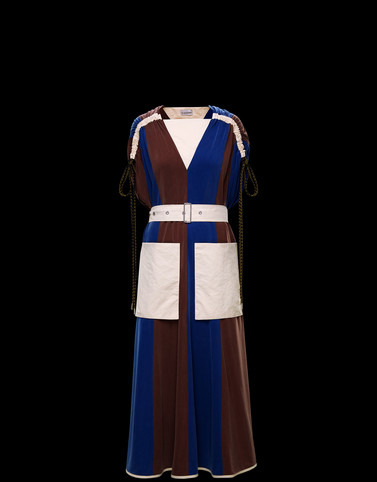 DRESS Brown 2 Moncler 1952 Woman