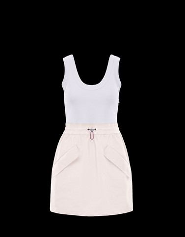 DRESS Ivory Dresses Woman