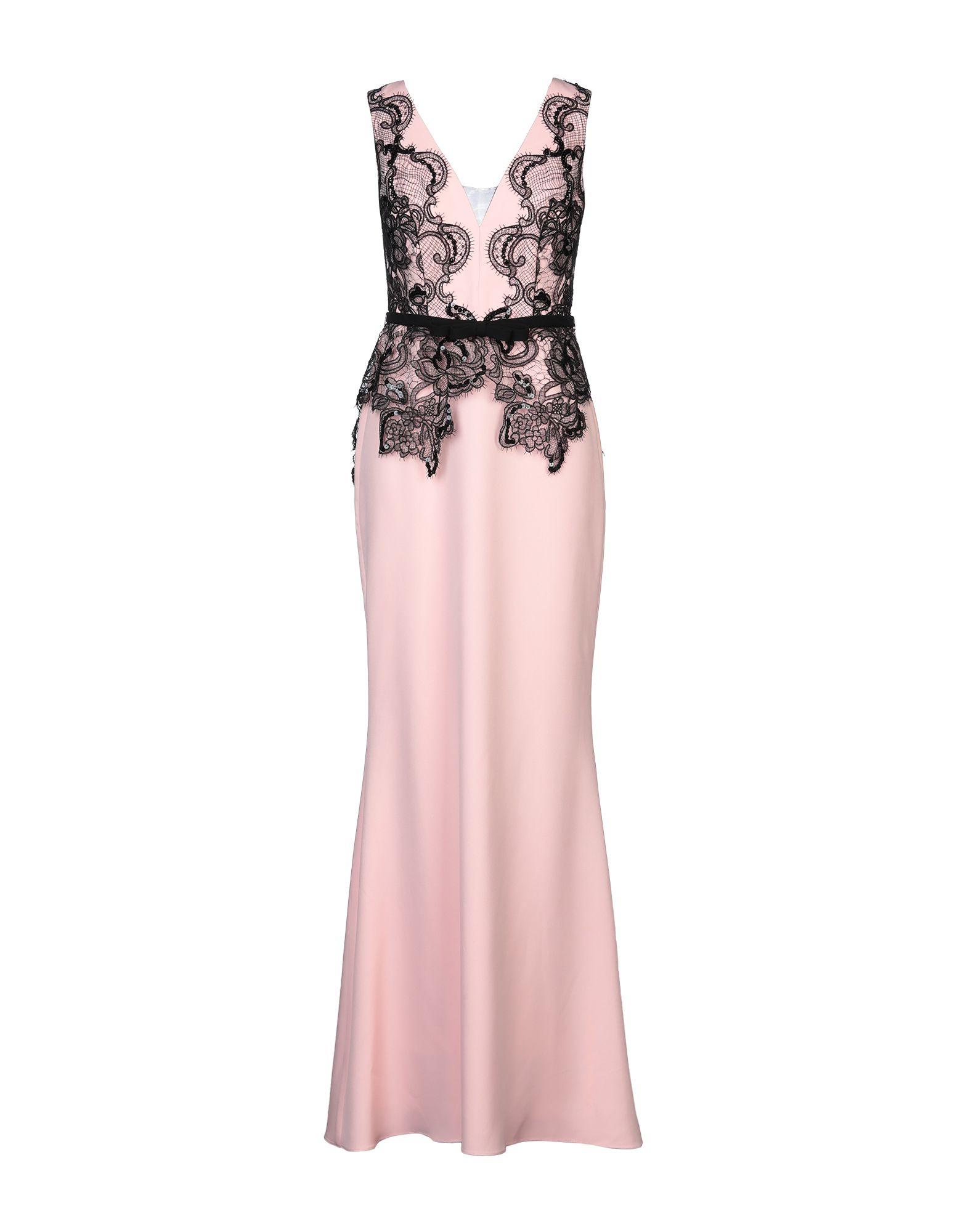 《セール開催中》MAESTRI レディース ロングワンピース&ドレス ピンク 10 ポリエステル 100%