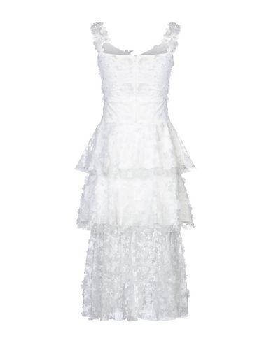 Фото 2 - Платье длиной 3/4 от SWEET SECRETS белого цвета