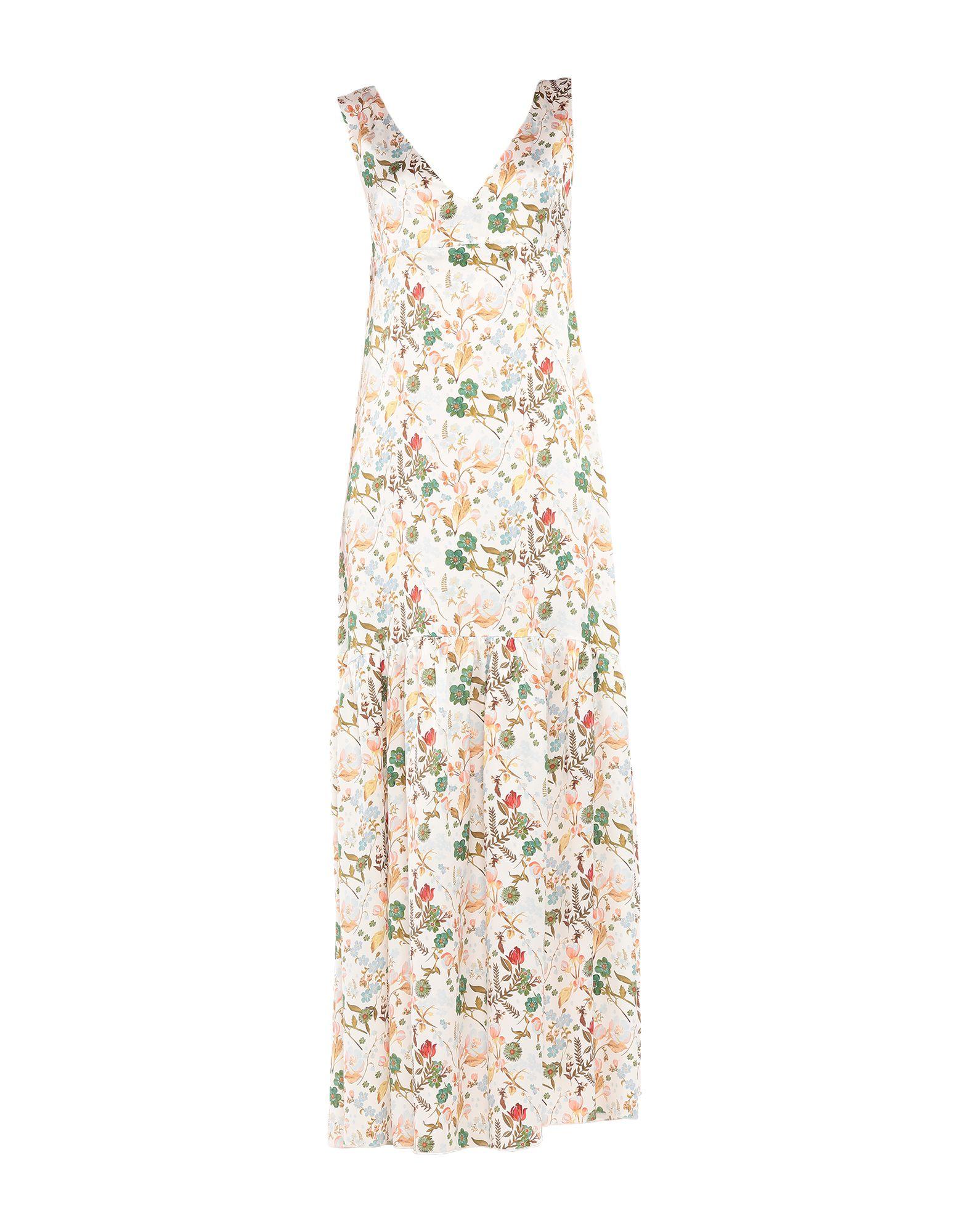 TONELLO Длинное платье tonello топ без рукавов