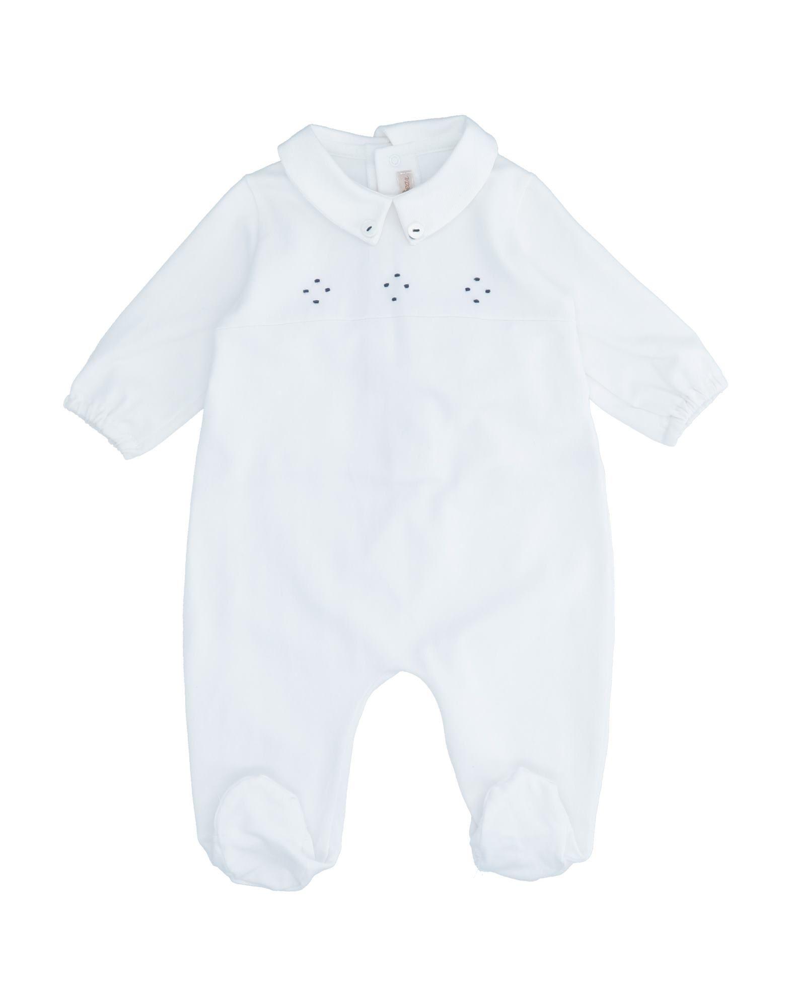 YOOX.COM(ユークス)《セール開催中》LITTLE BEAR ボーイズ 0-24 ヶ月 乳幼児用ロンパース ホワイト 3 コットン 95% / ポリウレタン 5%