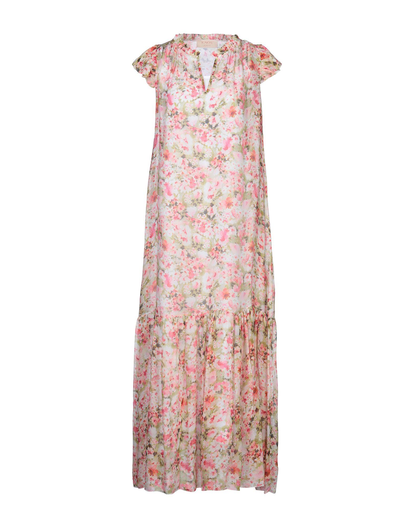 KAOS JEANS Длинное платье