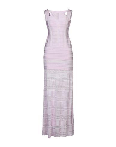 Длинное платье Herve Leger