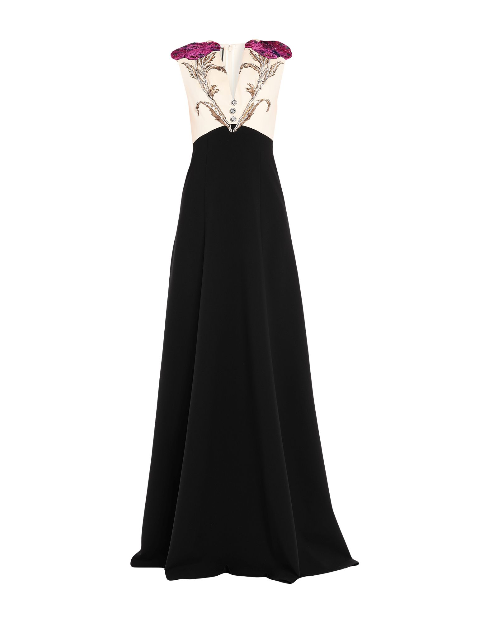 GUCCI Длинное платье gucci розовое платье с расклешенным подолом
