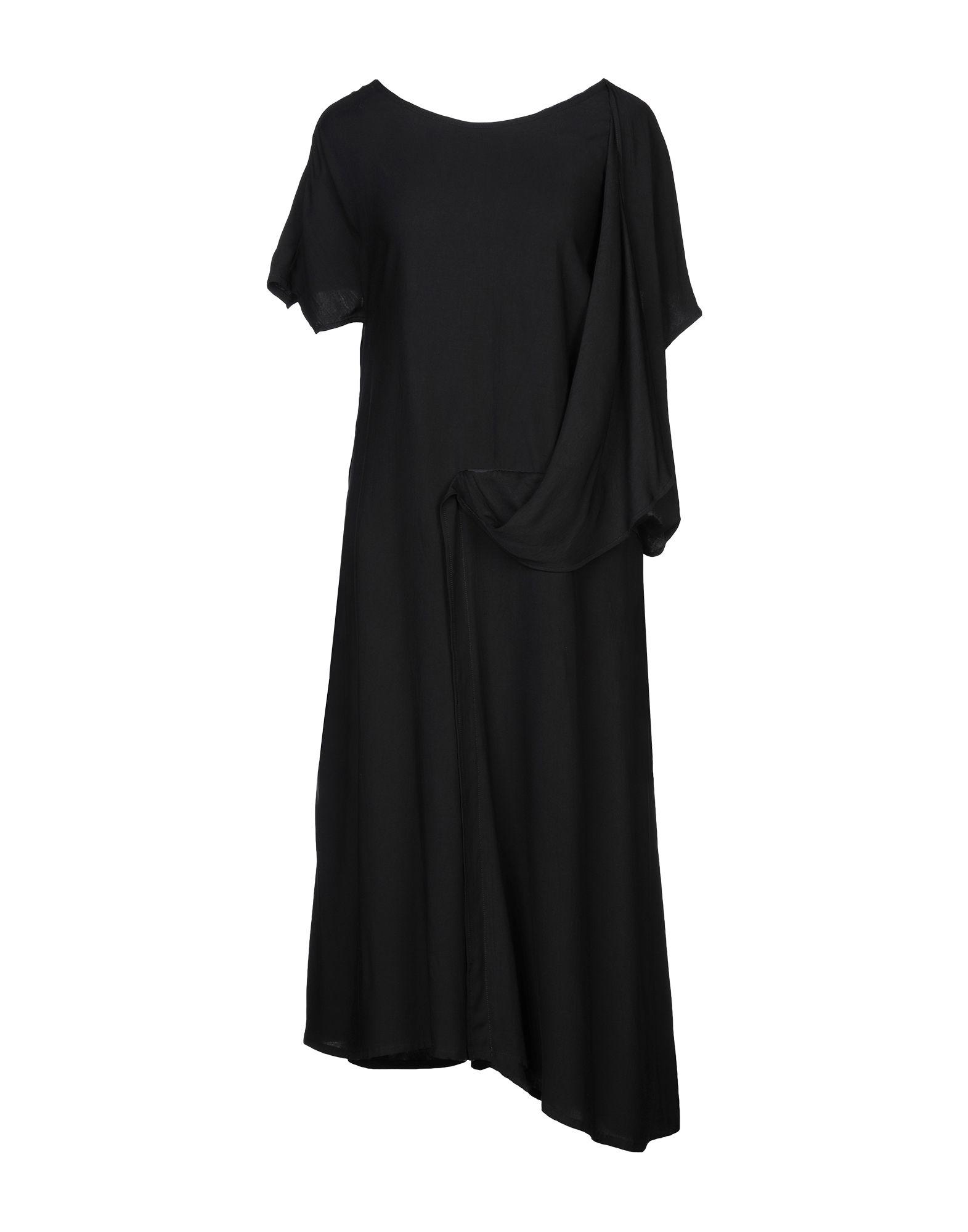 YOHJI YAMAMOTO Платье длиной 3/4
