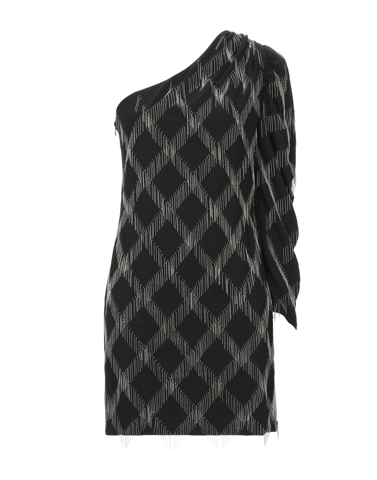 SIMONA CORSELLINI Короткое платье платье коктейльное из одно плечо
