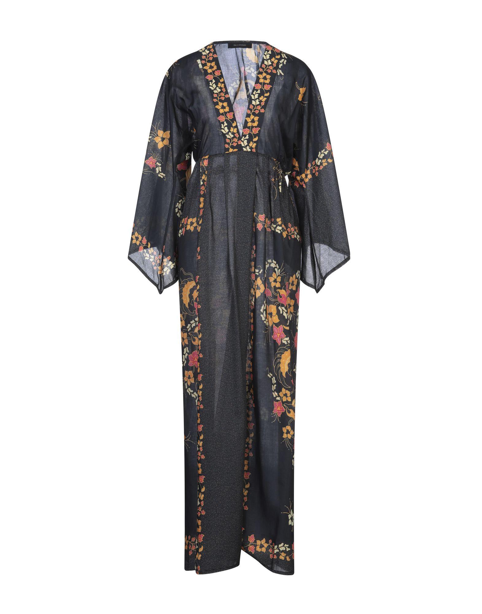 CELIA DRAGOUNI Длинное платье