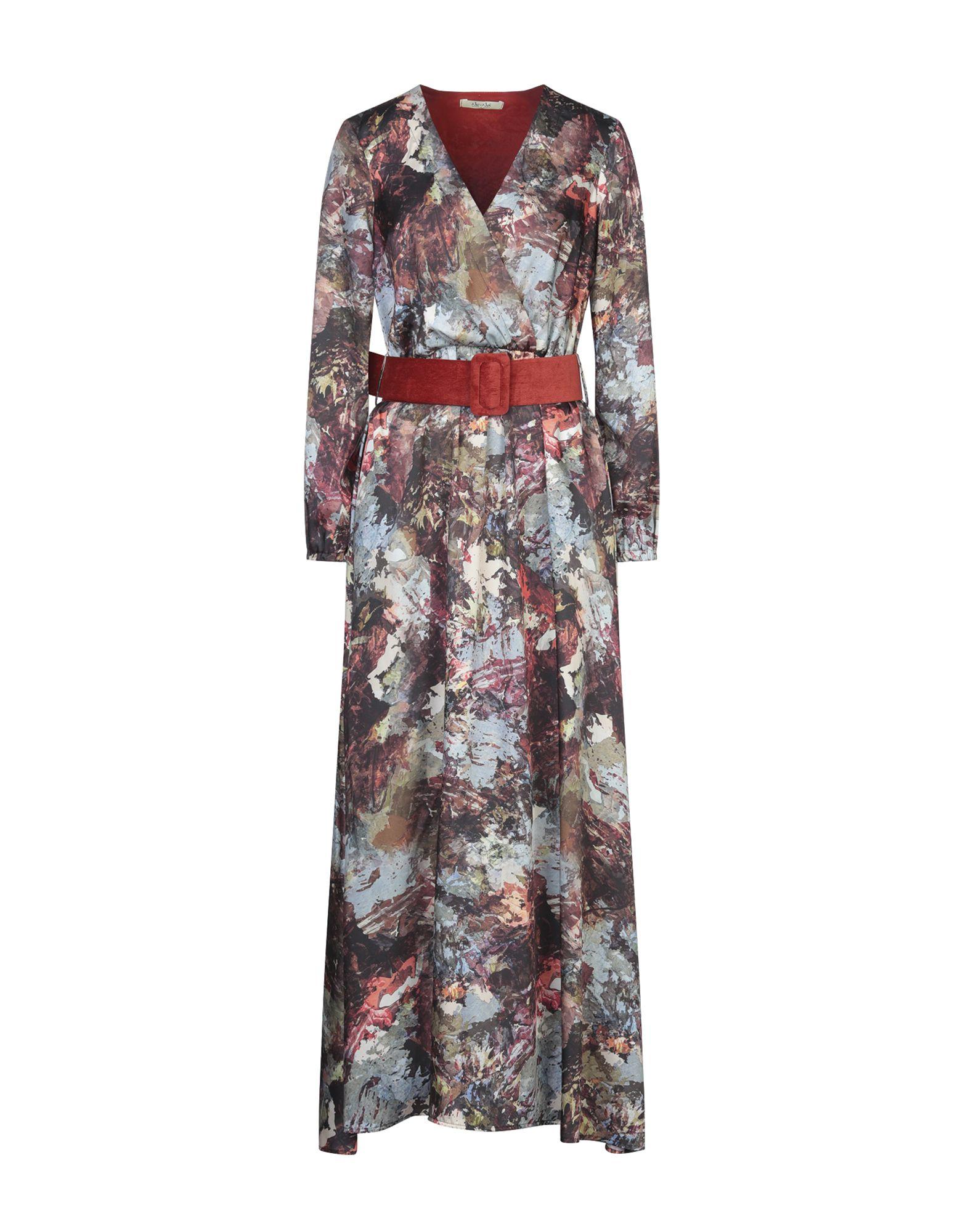 NO-NÀ Длинное платье no nà платье длиной 3 4