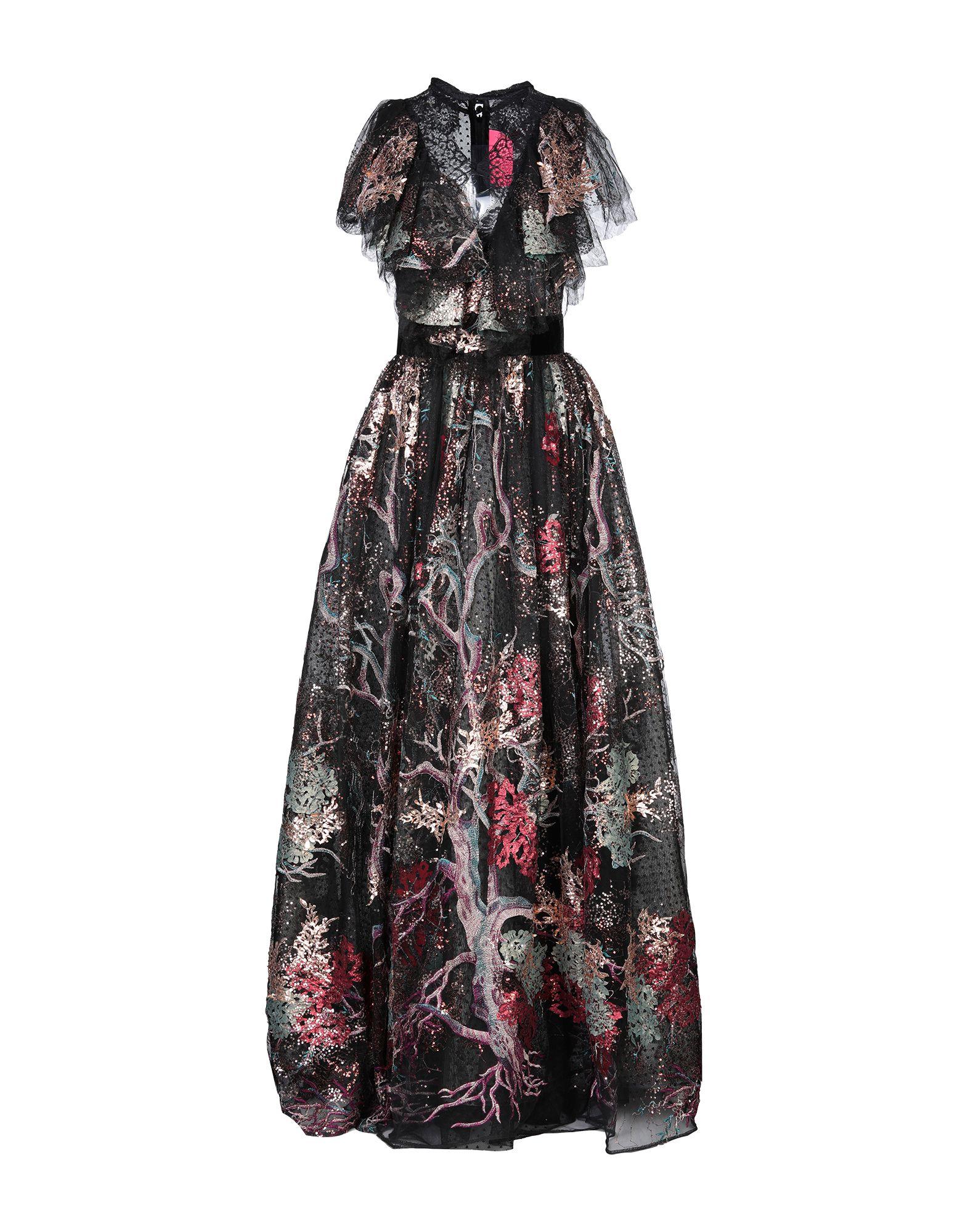 MIAU by CLARA ROTESCU Длинное платье