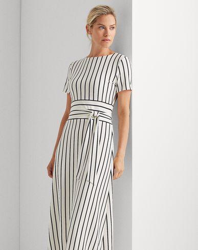 Фото 2 - Платье длиной 3/4 от LAUREN RALPH LAUREN белого цвета