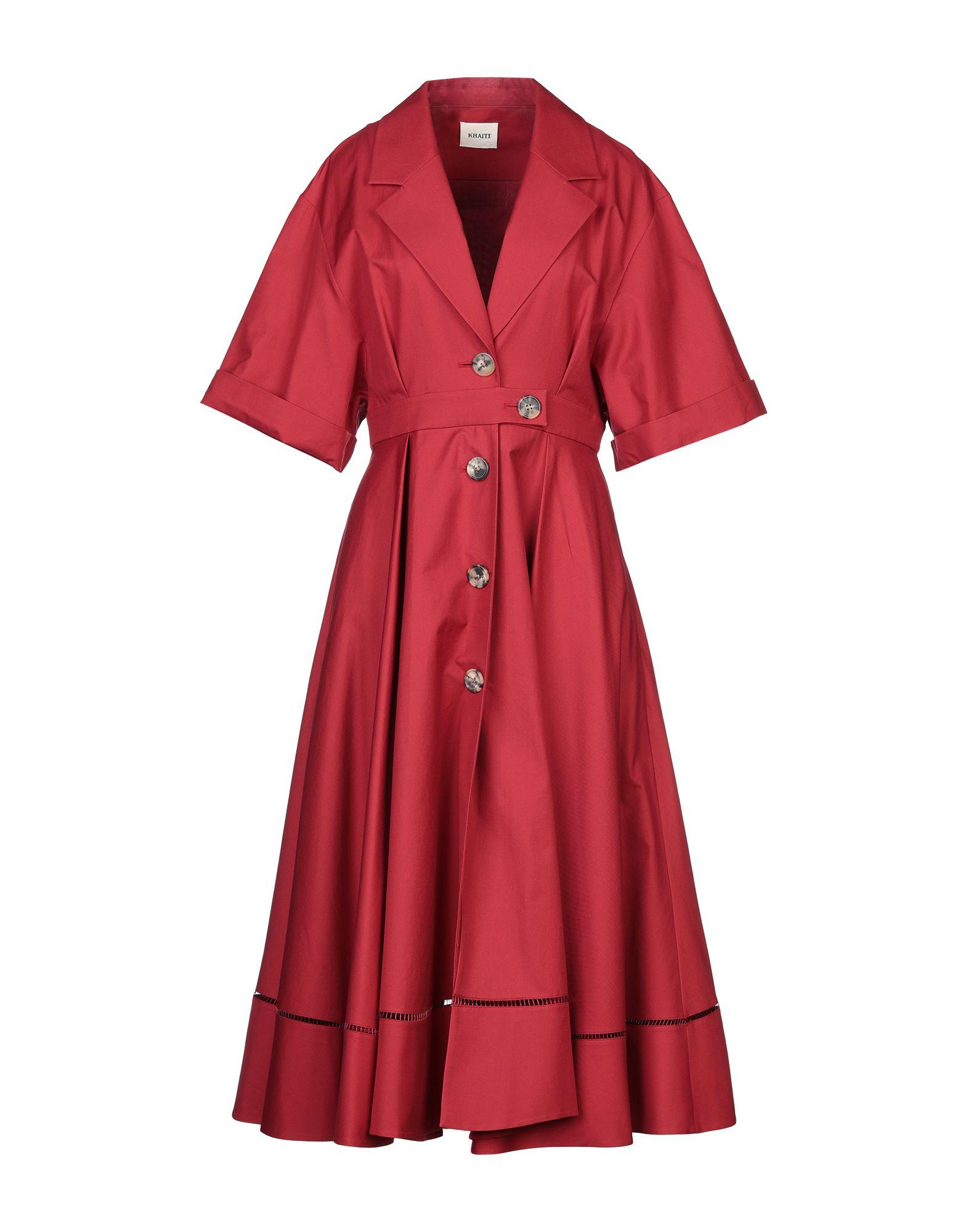 KHAITE Платье длиной 3/4