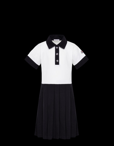 DRESS White Junior 8-10 Years - Girl Woman