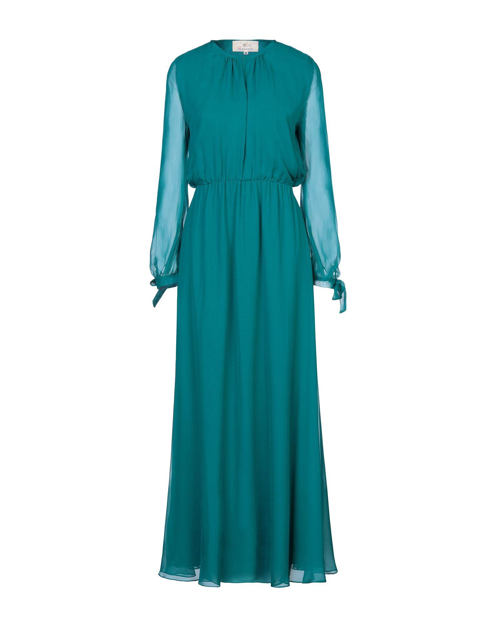 AROSSGIRL x SOLER Длинное платье