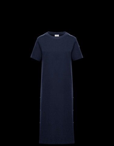 DRESS Blue Category Dresses Woman