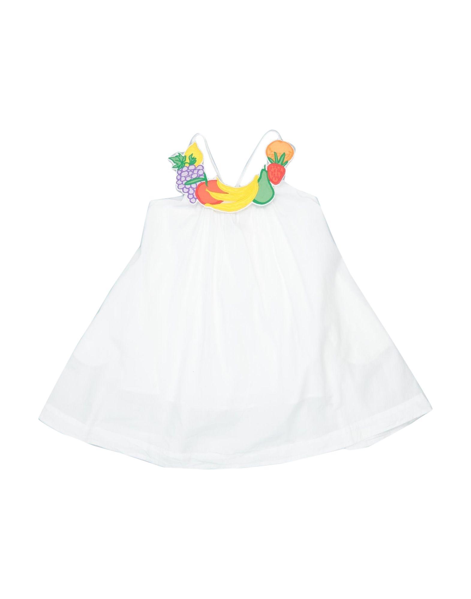 《セール開催中》STELLA McCARTNEY KIDS ガールズ 3-8 歳 ワンピース&ドレス ホワイト 4 コットン 100%