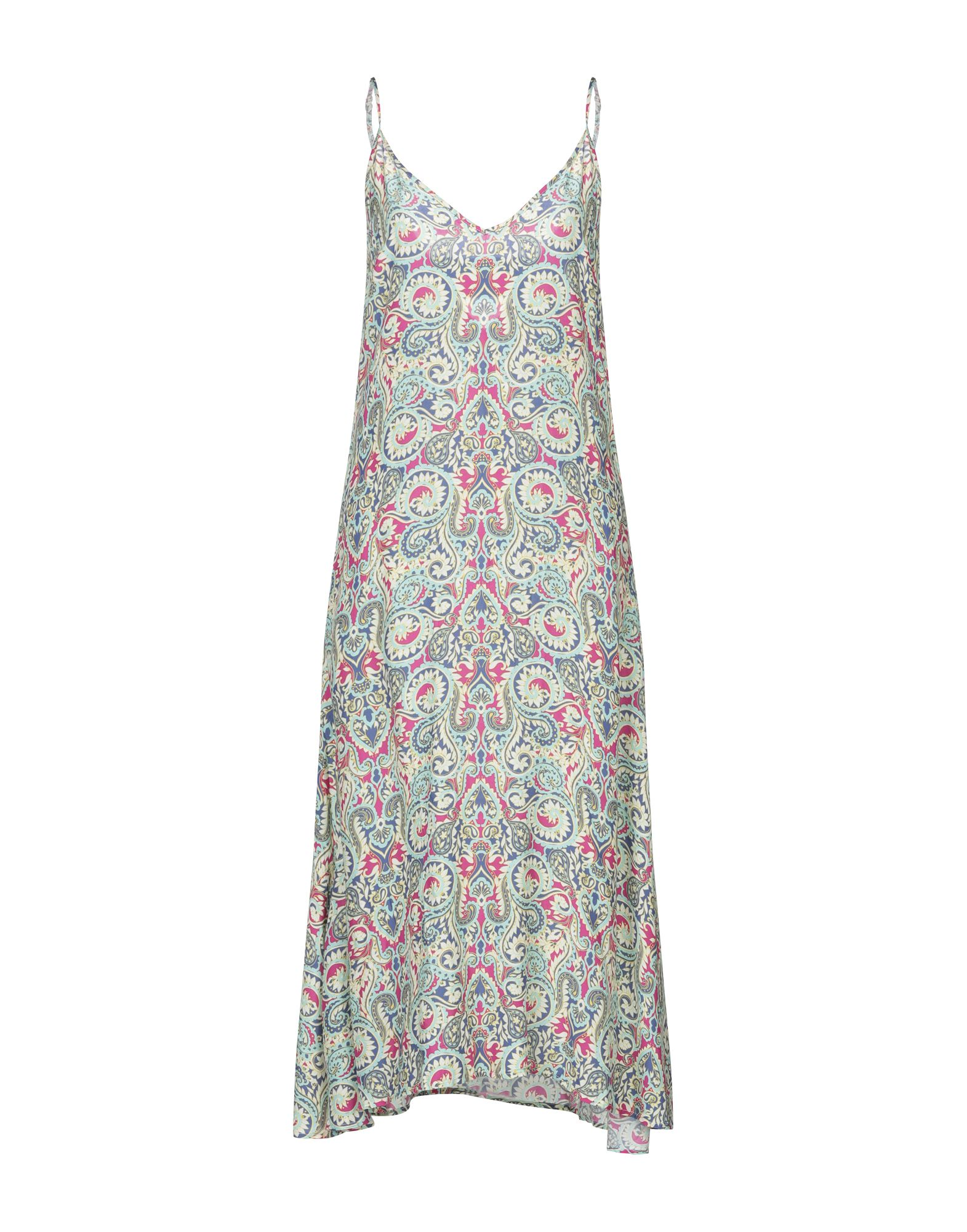 TART COLLECTIONS Платье длиной 3/4 платье украшенное рюшей js collections