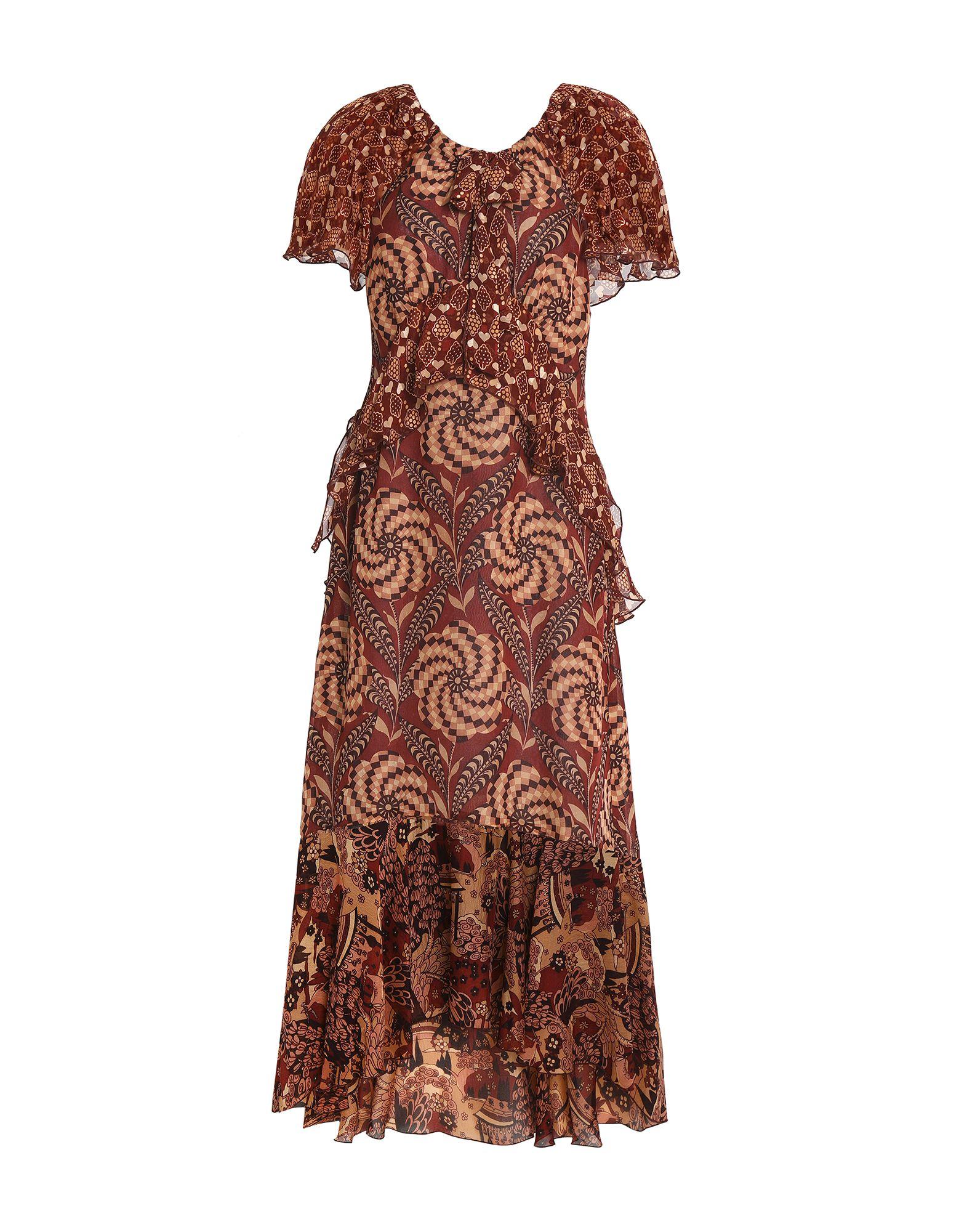 ANNA SUI Длинное платье