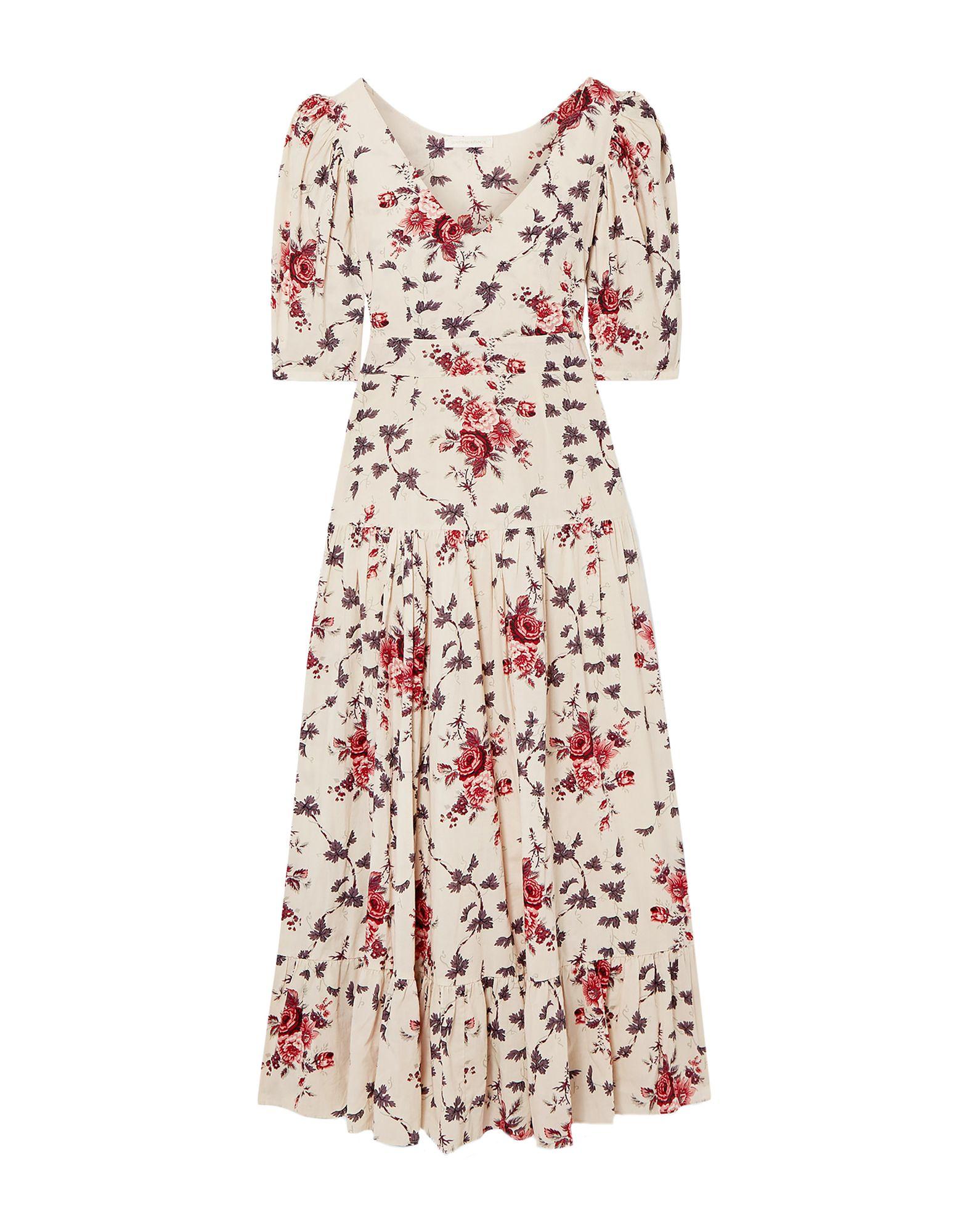 LOVESHACKFANCY Длинное платье