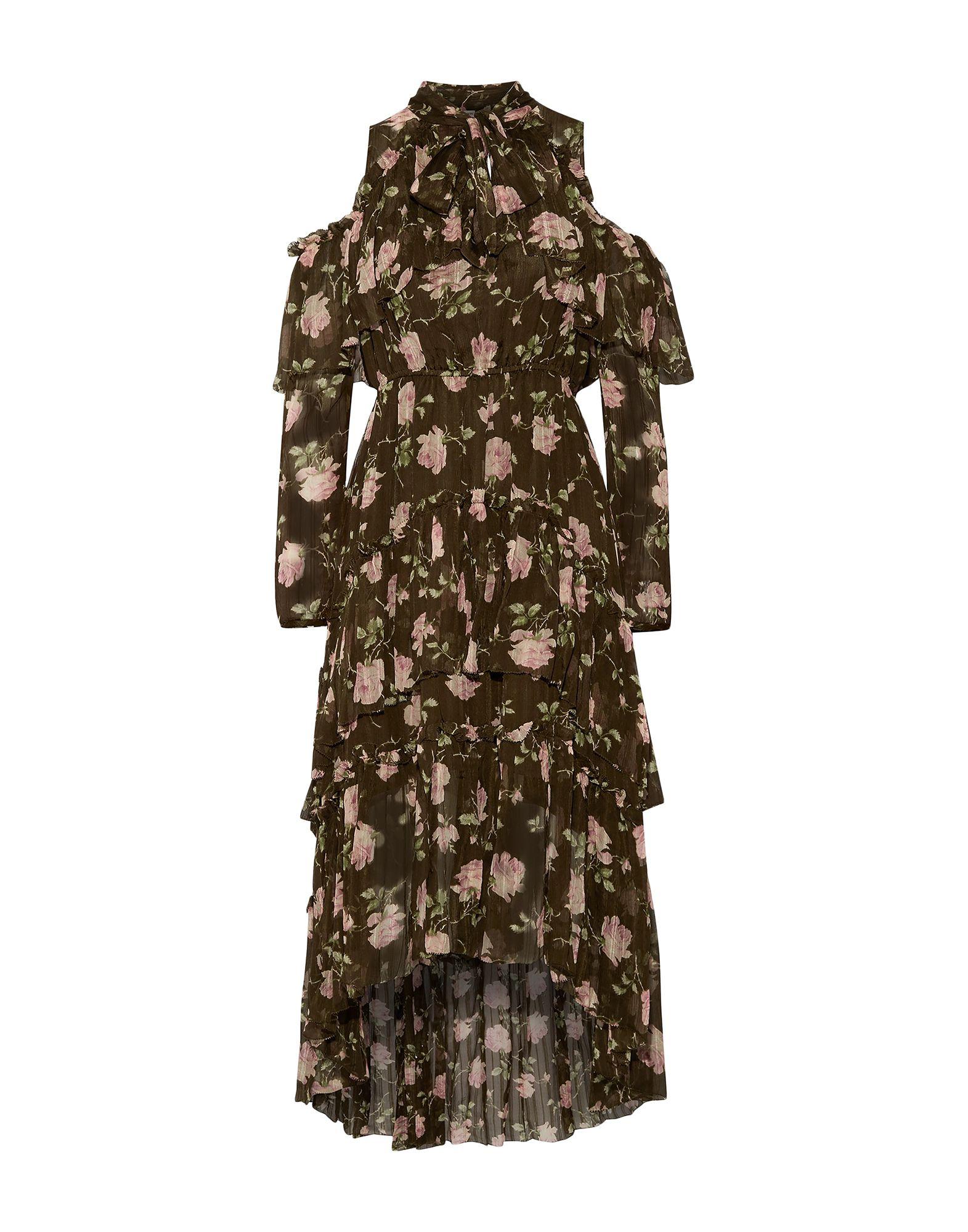 цена ULLA JOHNSON Длинное платье онлайн в 2017 году
