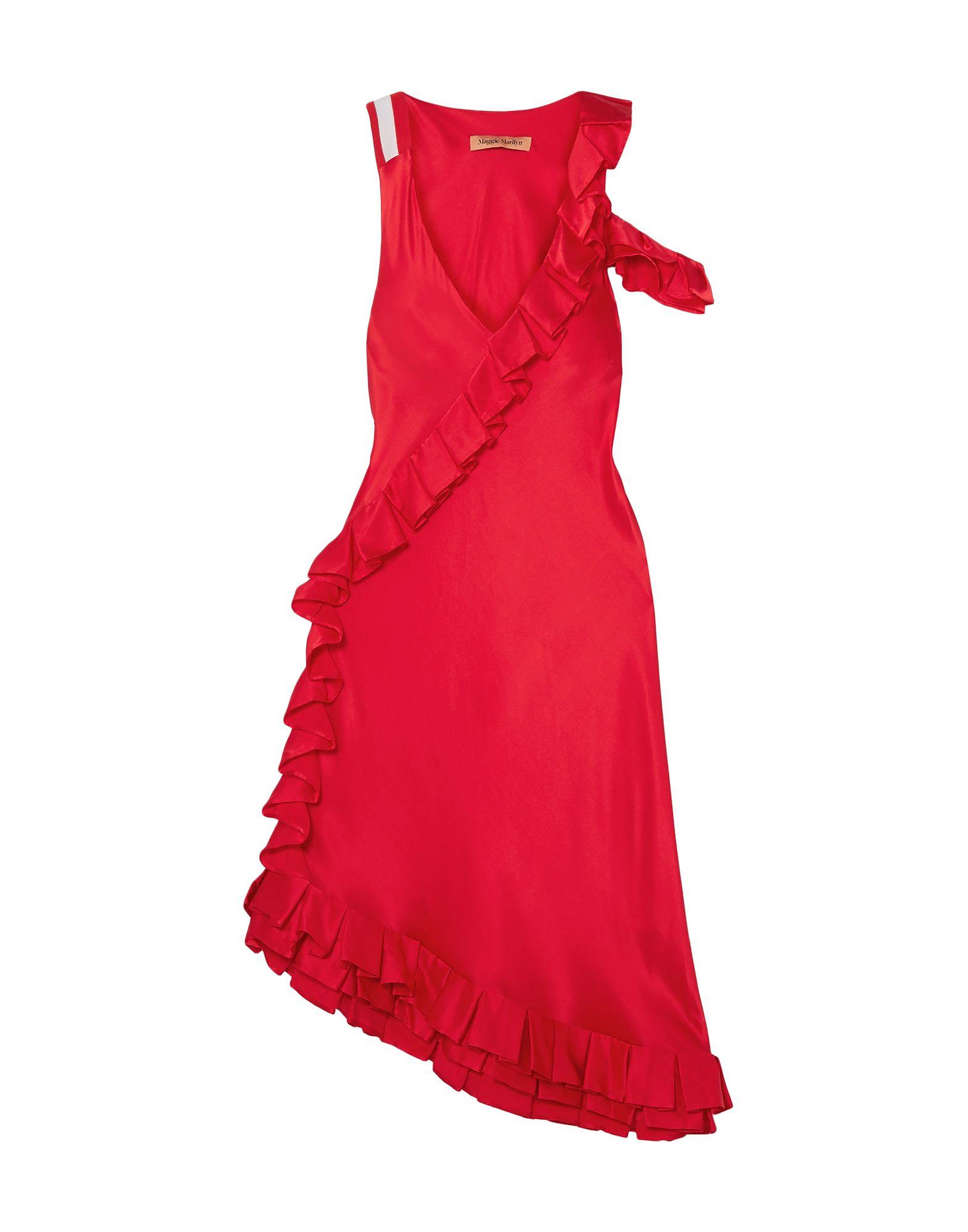 MAGGIE MARILYN Платье длиной 3/4 maggie carpenter cowboy s rules