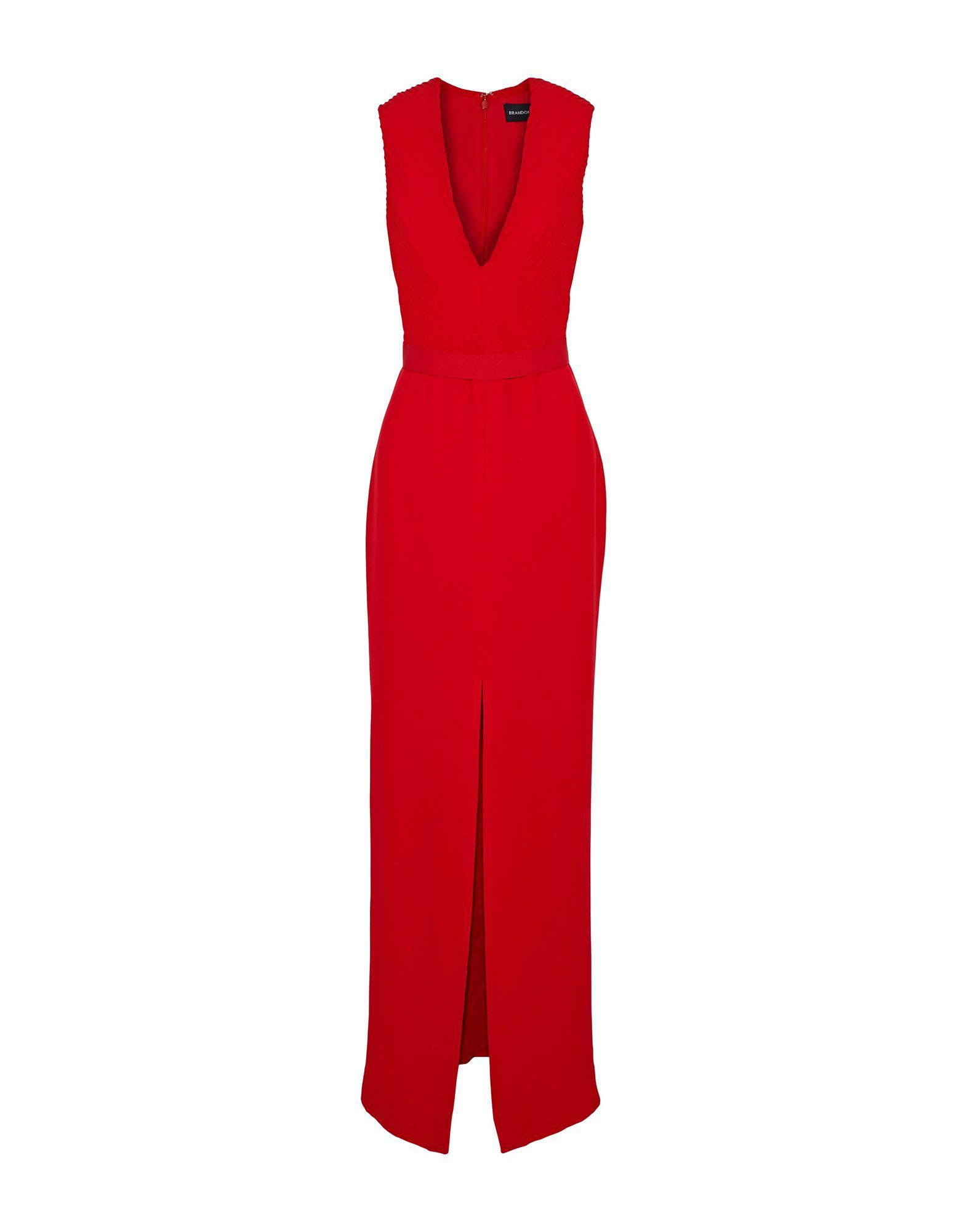BRANDON MAXWELL Длинное платье