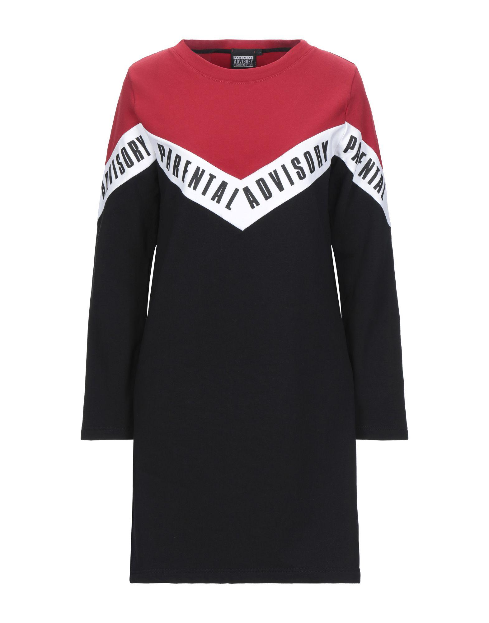 PARENTAL ADVISORY EXPLICIT CONTENT Короткое платье