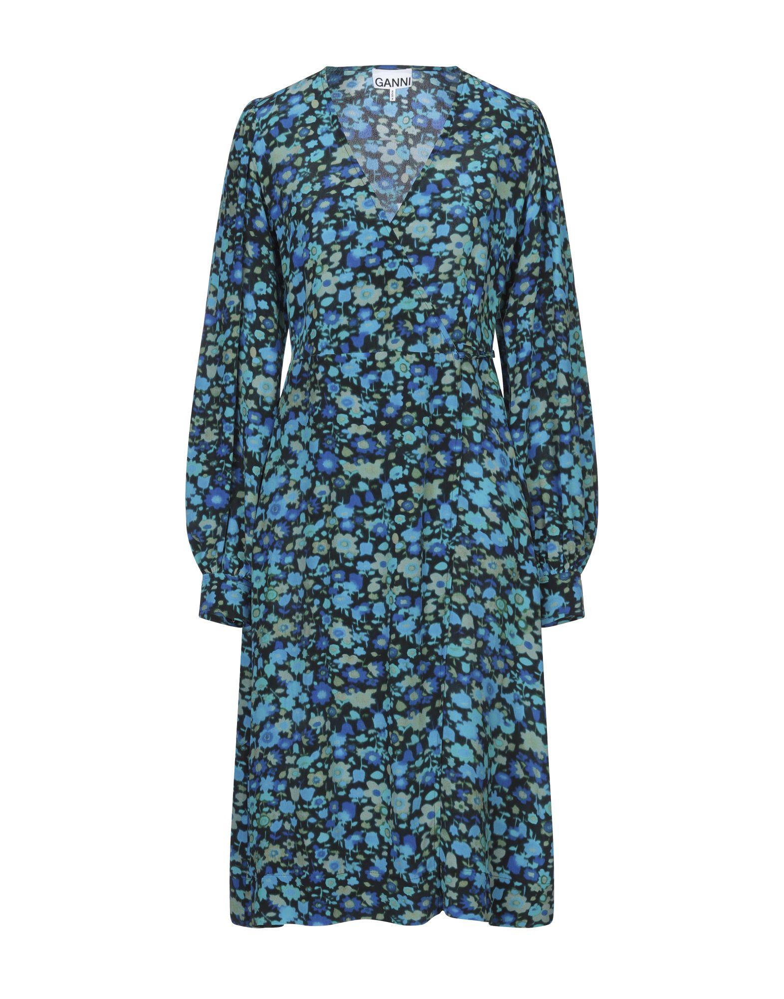 GANNI Платье до колена