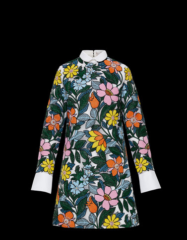 DRESS Multicolor 8 Moncler Richard Quinn Woman