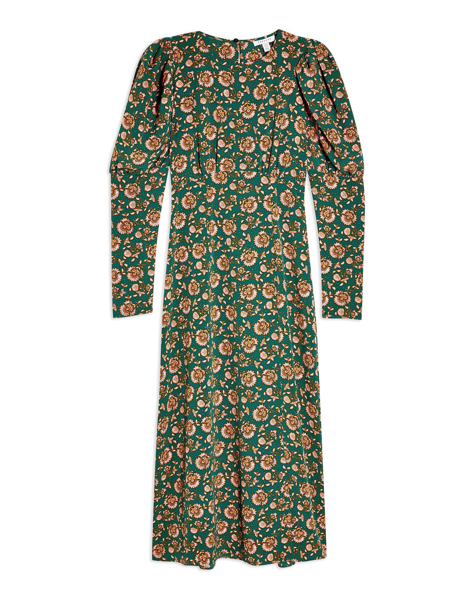 TOPSHOP Длинное платье джинсы topshop topshop to029ewcimk2