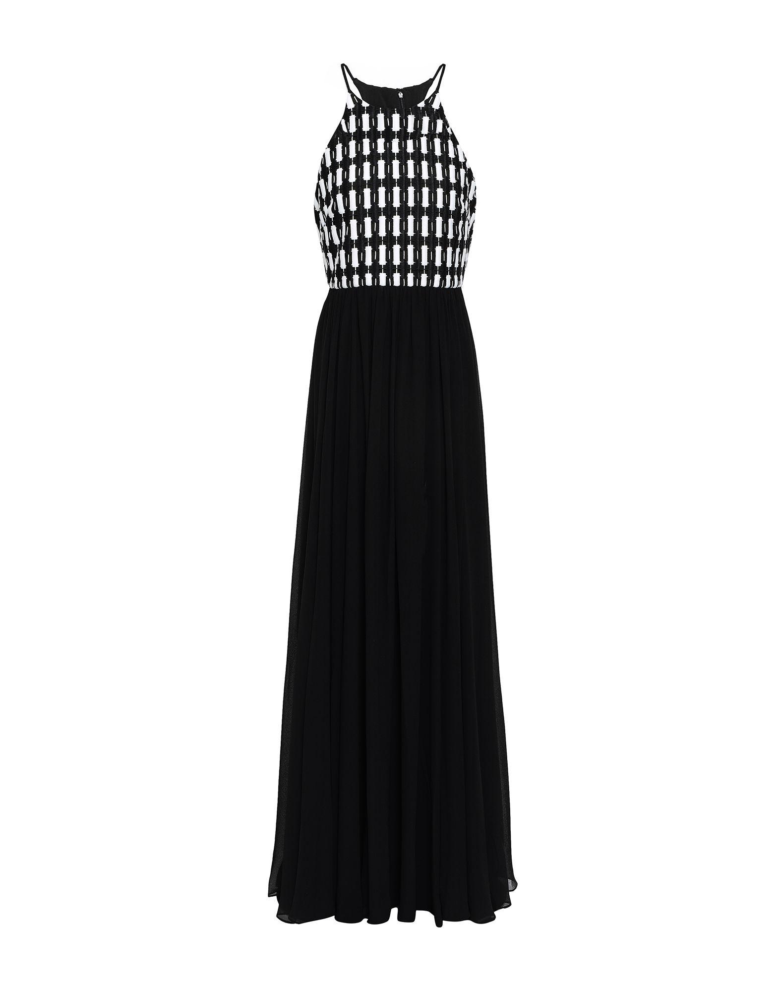 《セール開催中》BADGLEY MISCHKA レディース ロングワンピース&ドレス ブラック 4 ポリエステル 100%