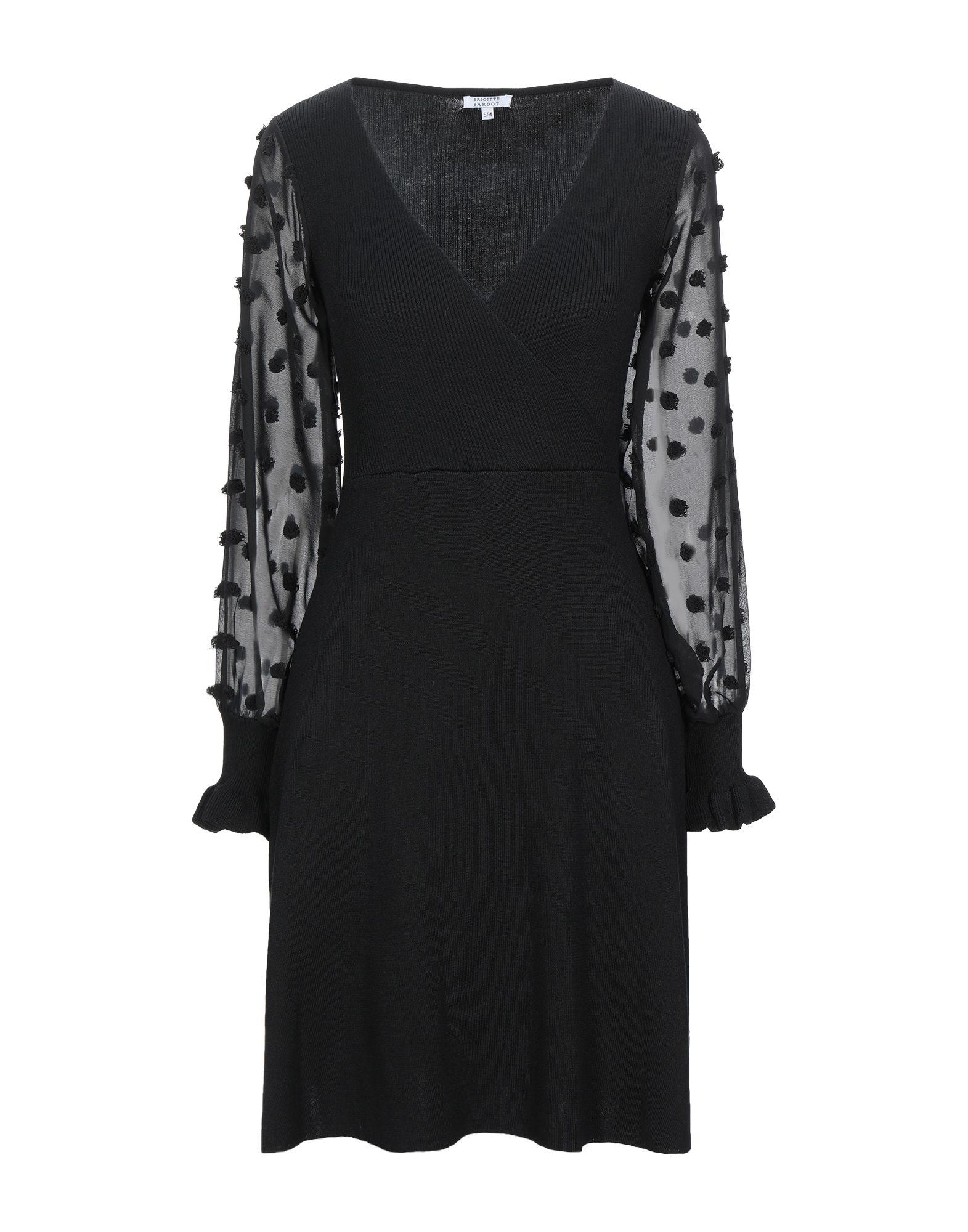BRIGITTE BARDOT Короткое платье платье brigitte bardot brigitte bardot br831ewjlh30