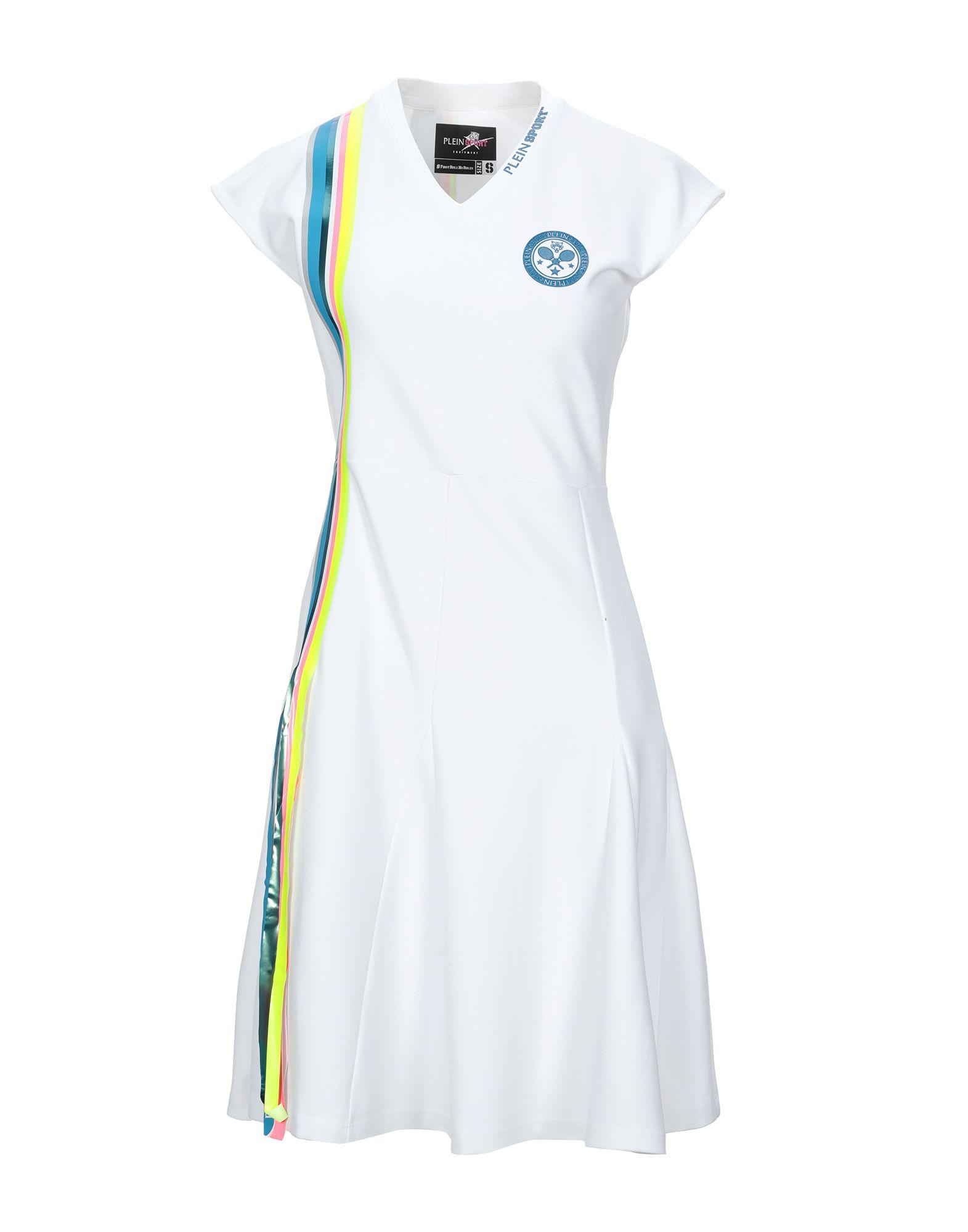 PLEIN SPORT Короткое платье escada sport короткое платье