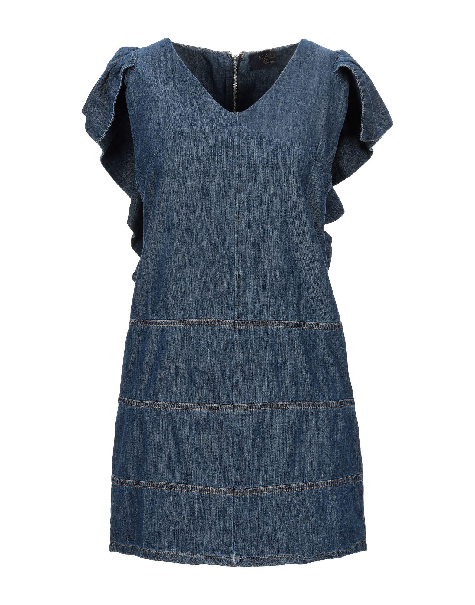 KAOS JEANS Короткое платье