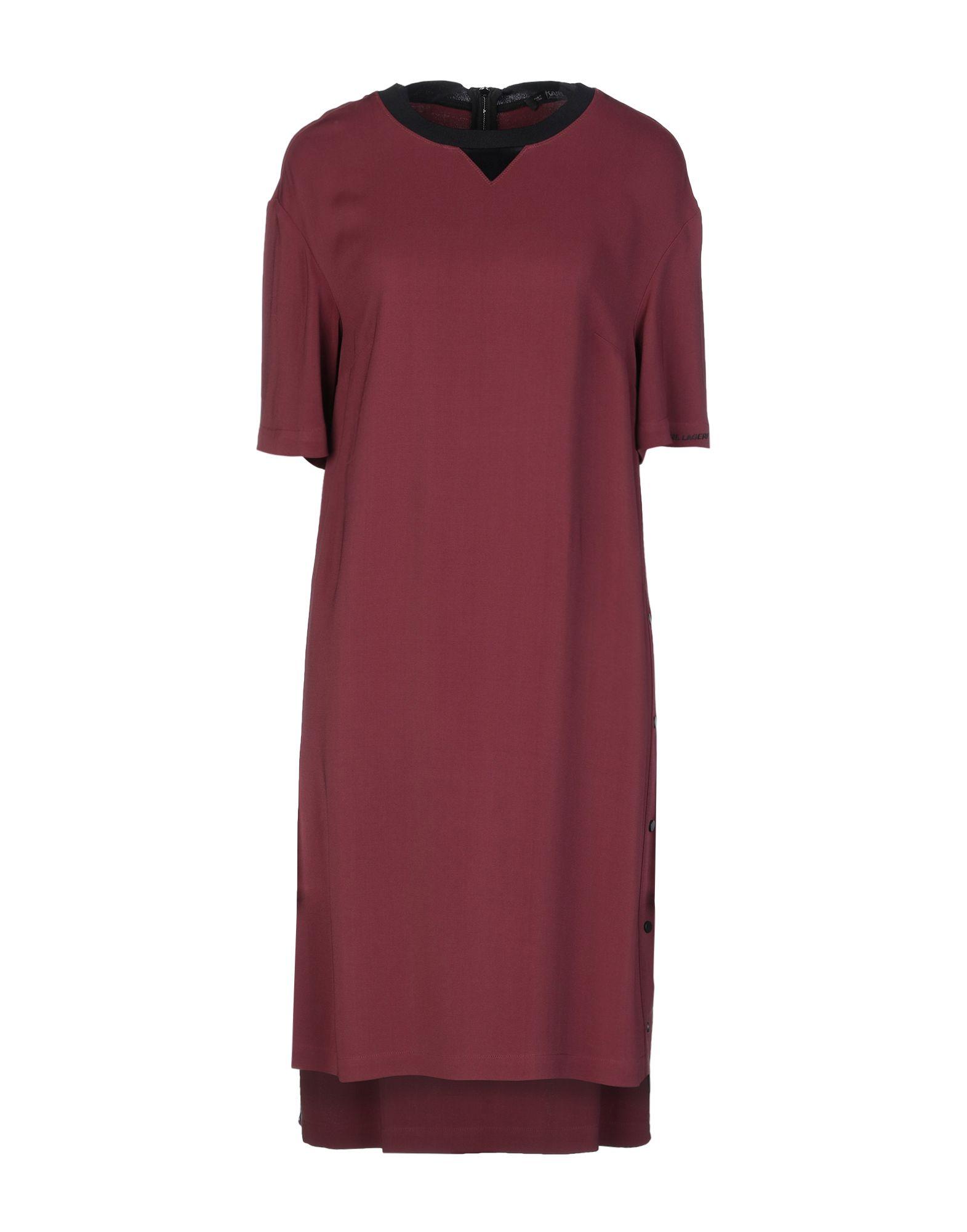 KARL LAGERFELD Платье до колена