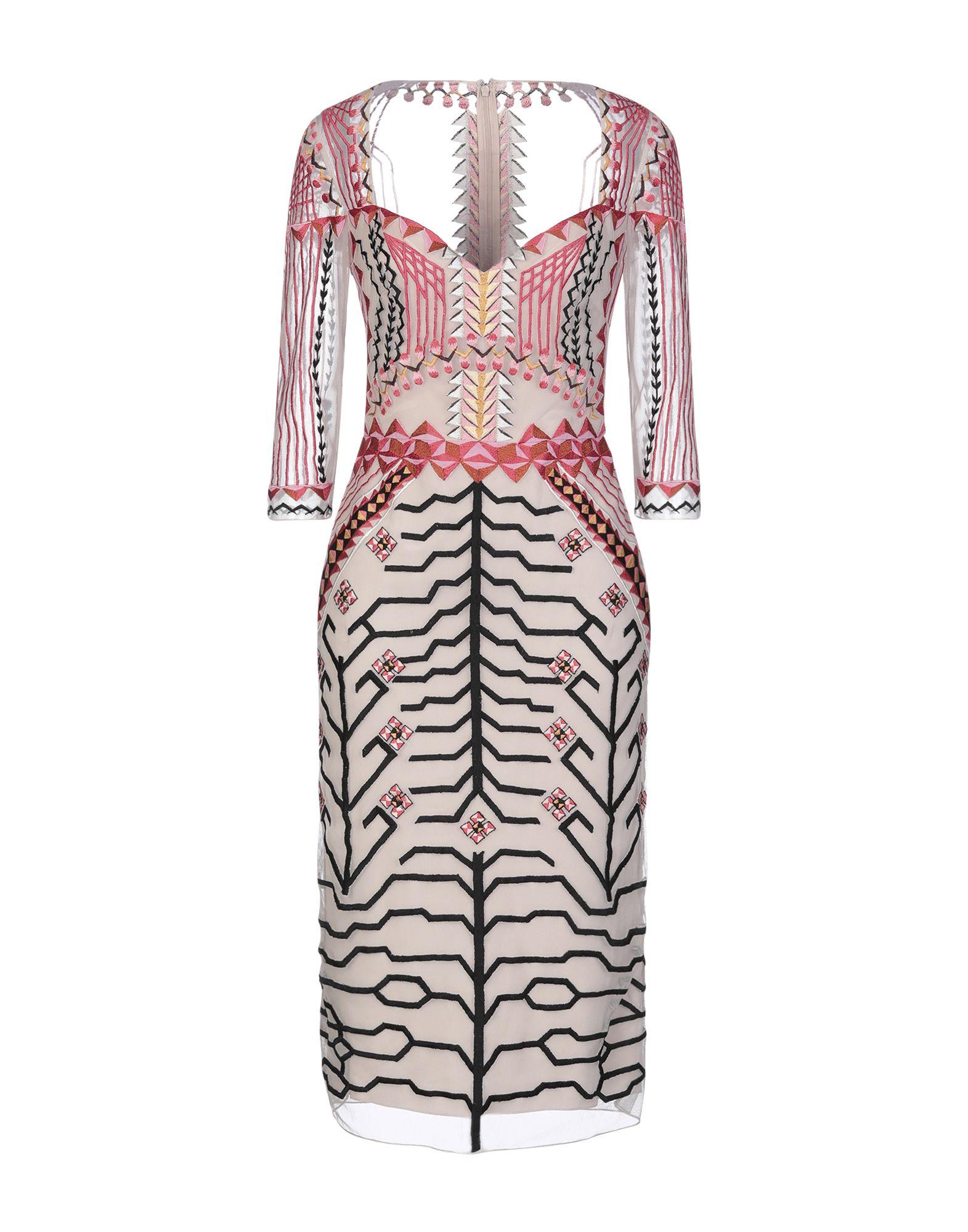 TEMPERLEY LONDON Платье до колена
