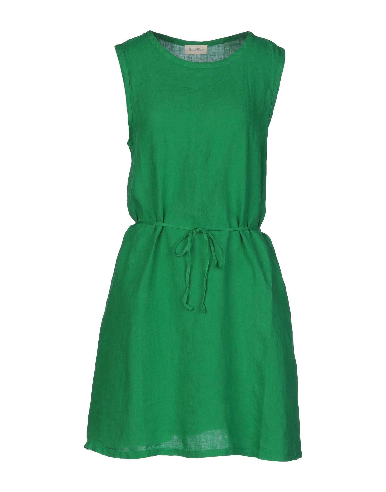 AMERICAN VINTAGE Короткое платье короткое платье из гипюра american apparel