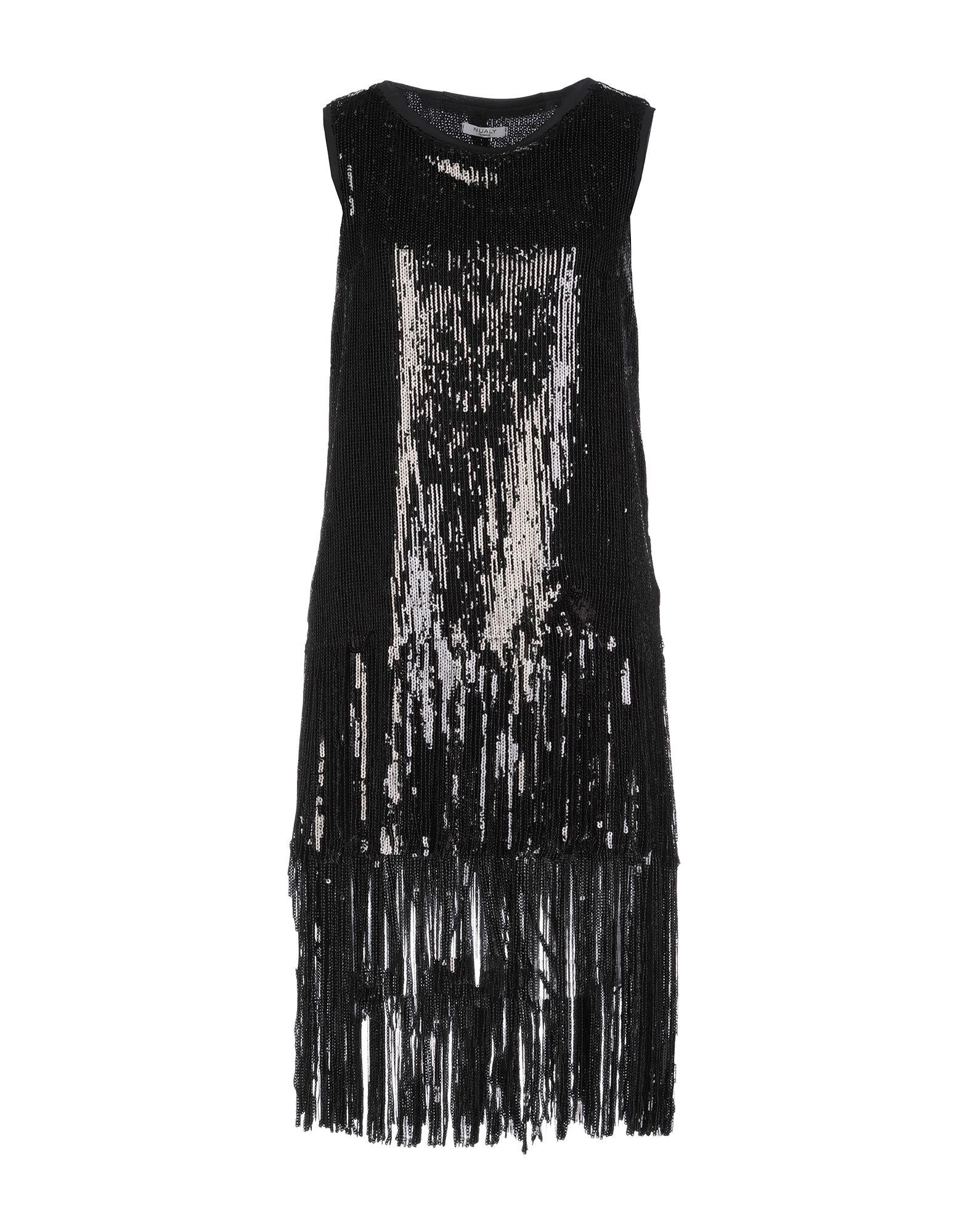 NUALY Короткое платье