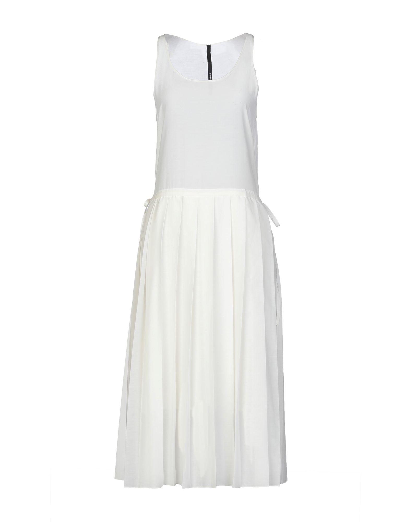 SARA LANZI Платье длиной 3/4 sara lanzi юбка длиной 3 4