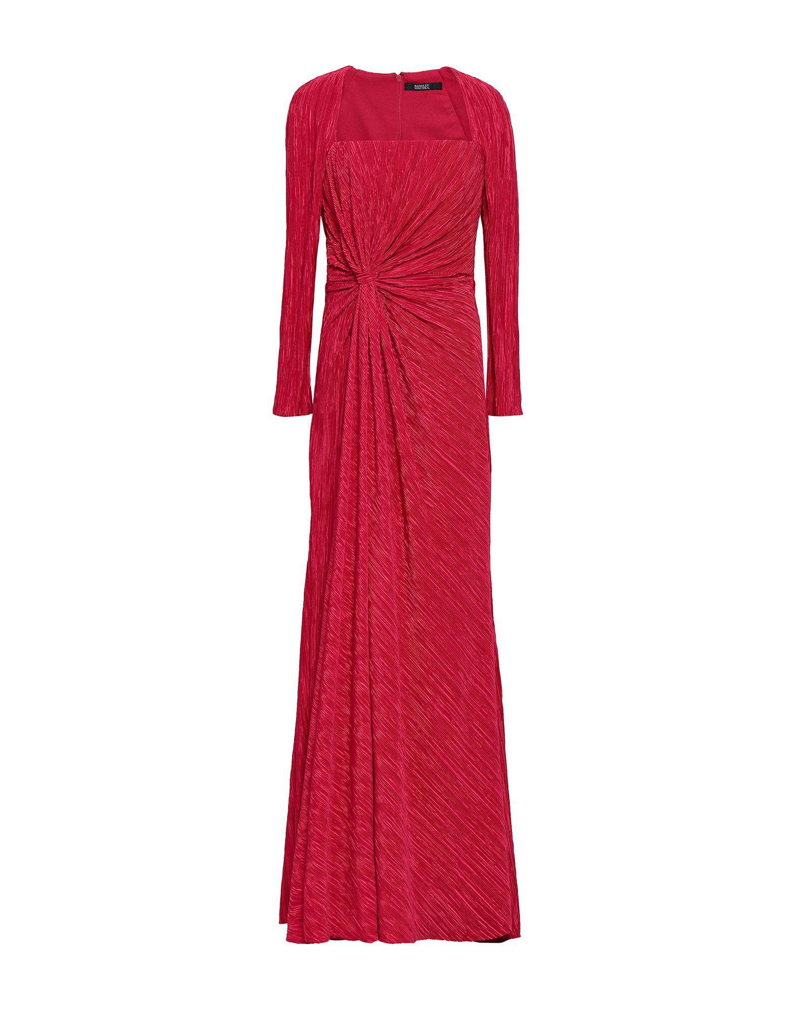 《セール開催中》BADGLEY MISCHKA レディース ロングワンピース&ドレス レッド 0 ポリエステル 100%
