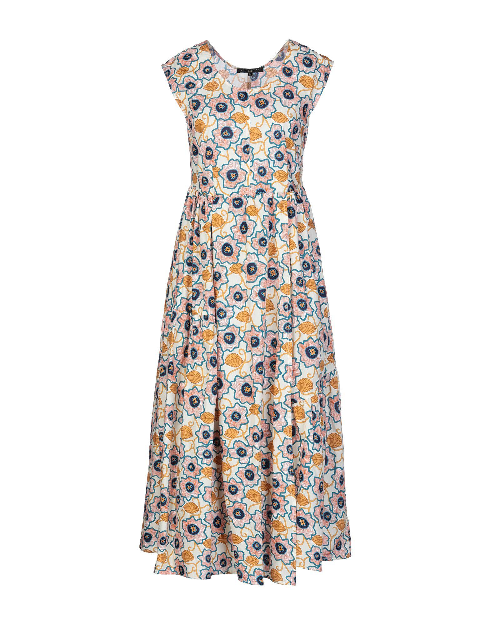 BRIAN DALES Длинное платье