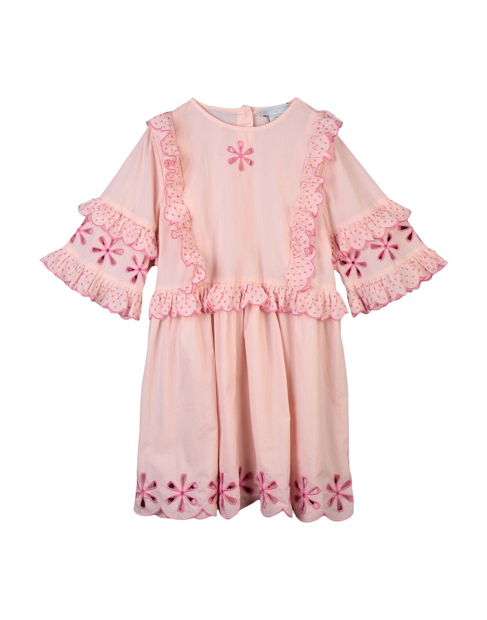 《セール開催中》STELLA McCARTNEY KIDS ガールズ 3-8 歳 ワンピース&ドレス ライトピンク 3 コットン 100%