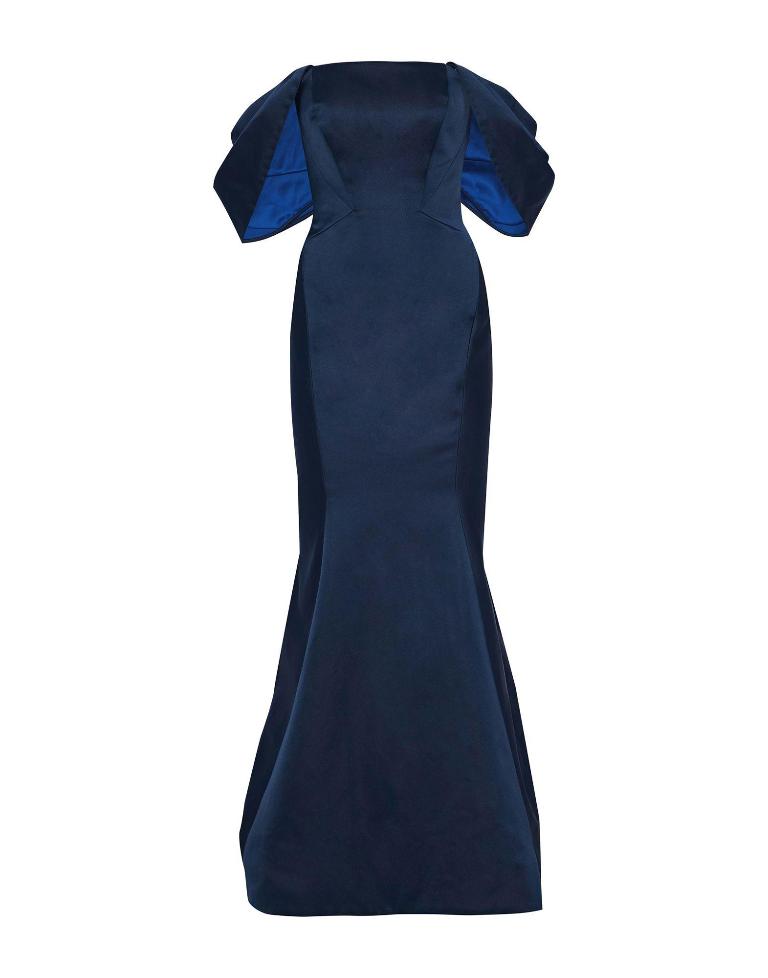 ZAC POSEN Длинное платье zac posen шелковое платье бюстье