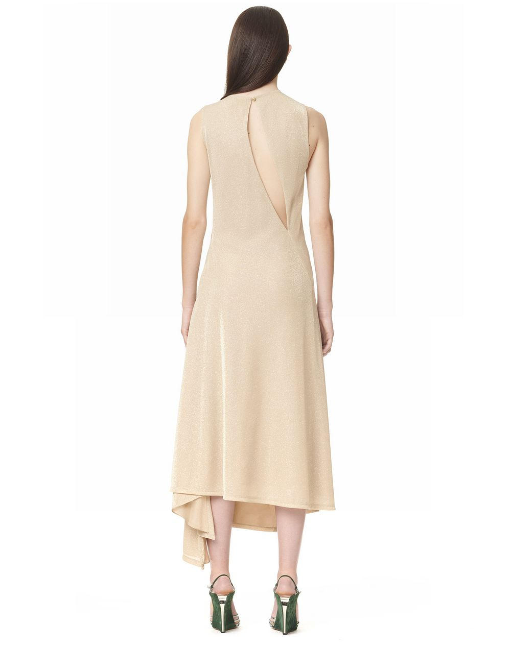 SLEEVELESS DRAPED DRESS - Lanvin