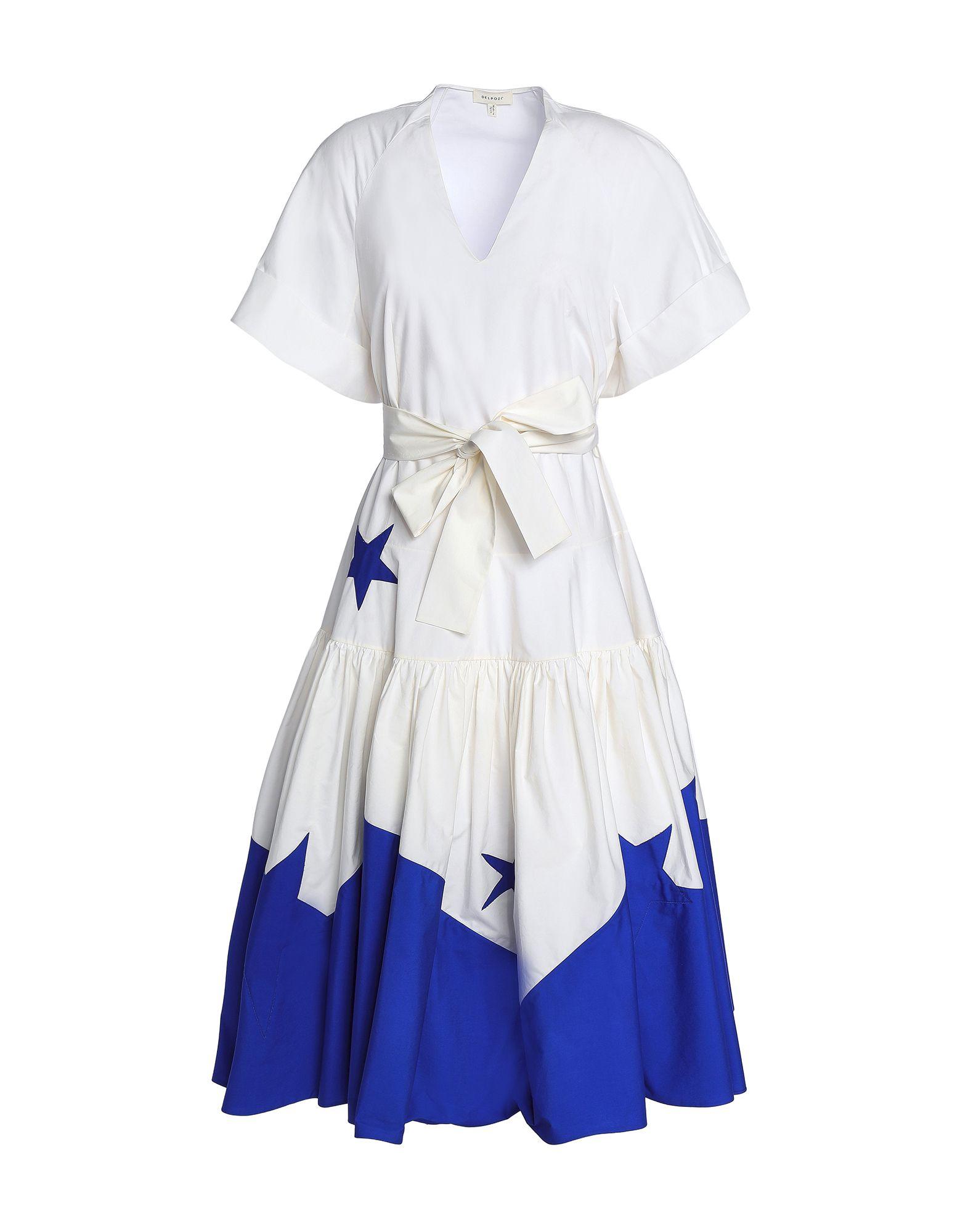 DELPOZO Платье длиной 3/4 delpozo бюстье