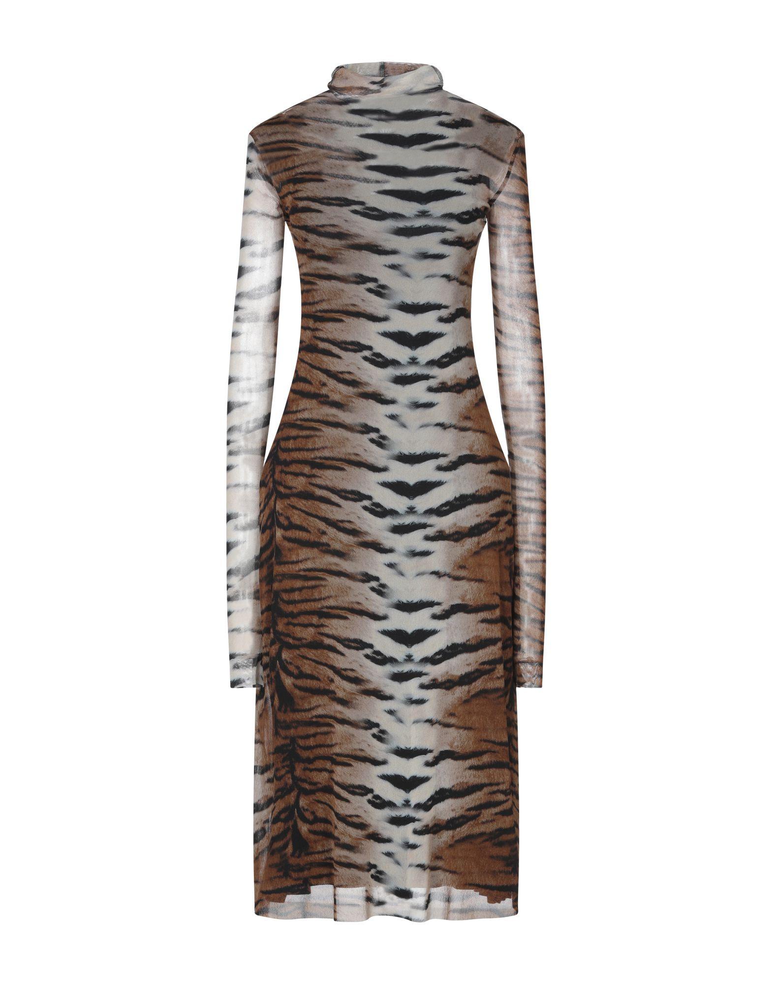 VIRNA DRÒ® Платье длиной 3/4 virna drò® накидка