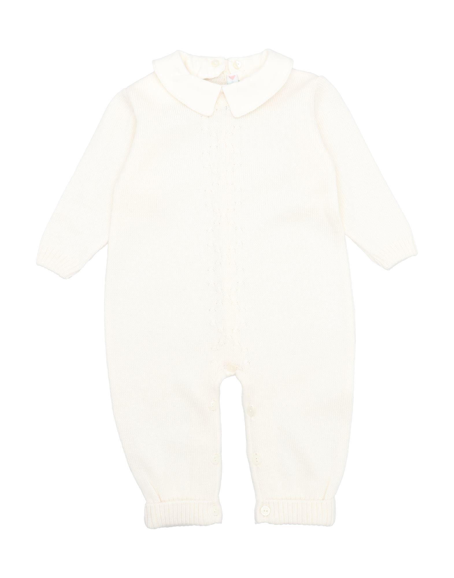 YOOX.COM(ユークス)《セール開催中》BEBEBO' ガールズ 0-24 ヶ月 乳幼児用ロンパース アイボリー 6 ウール 100%