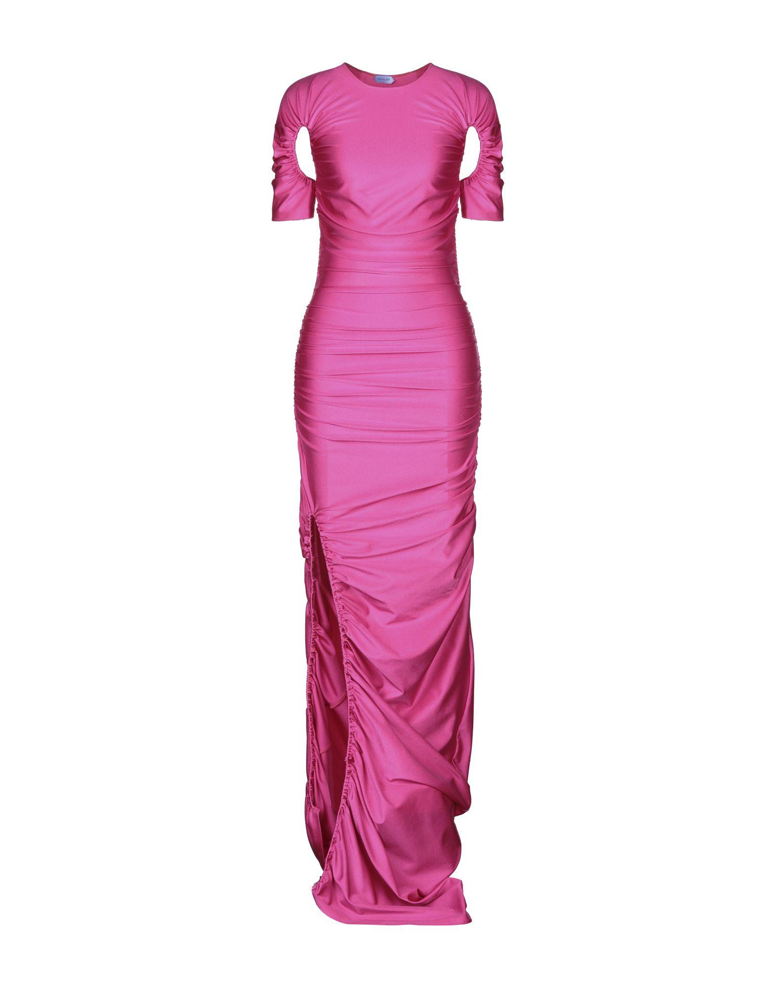 MUGLER Длинное платье