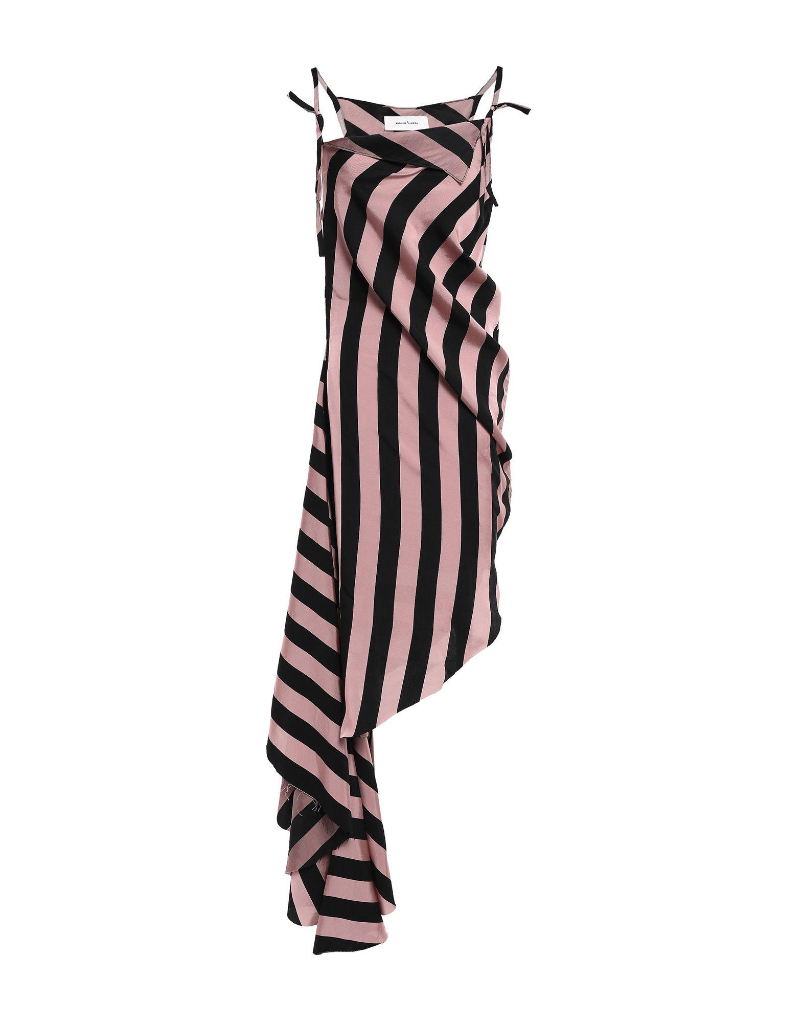 MARQUES' ALMEIDA Платье до колена marques almeida топ без рукавов