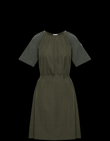 DRESS Military green New in Woman
